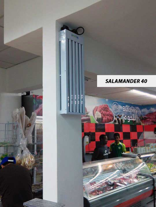 Salamander40, Slim and Industrial Unit