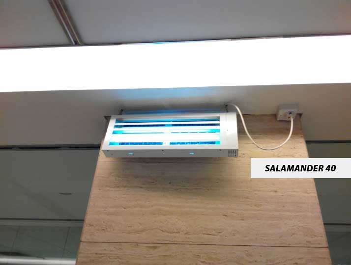 Salamander40, Multiple Installation Method